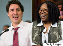 Whoopi Goldberg Praises 'Young Baby' Trudeau's Work On Marijuana