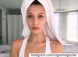 Bella Hadid's Jet Lag Beauty Routine Is Easier Than You Think