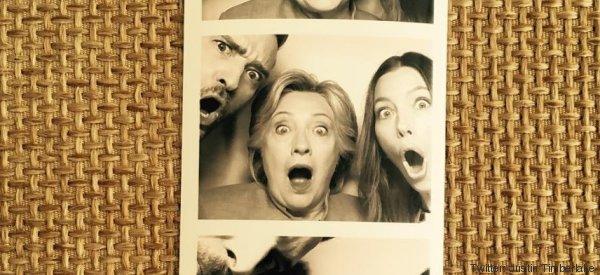 Hillary Clinton s'est bien amusée avec Justin Timberlake et Jessica Biel