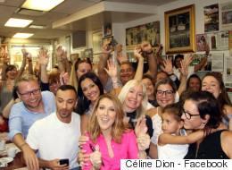 Céline Dion surprend ses fans au Schwartz's (PHOTOS)