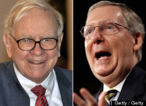 Warren Buffett Mitch Mcconnell