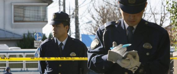 JAPAN POLICE LINE