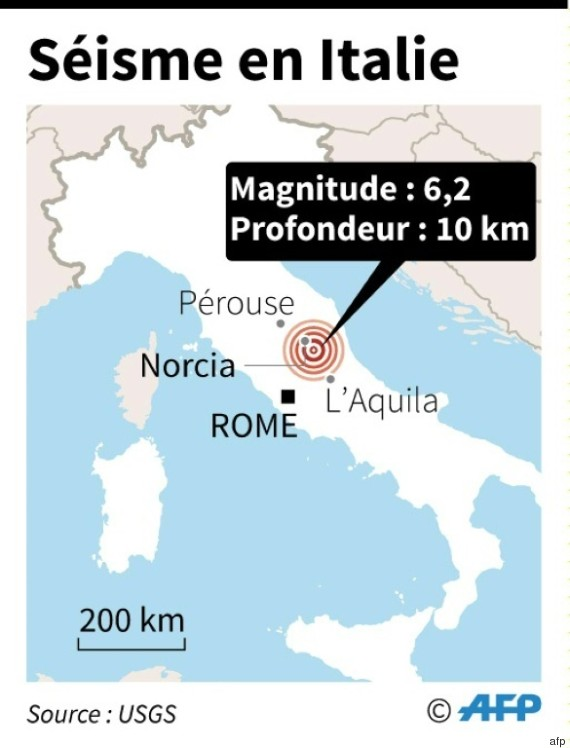 italia earthquake