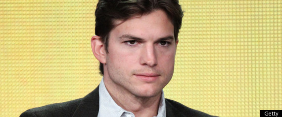 Ashton Kutcher Two And A Half Men Cbs