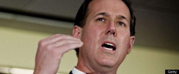 Rick Santorum Catholic Evangelical