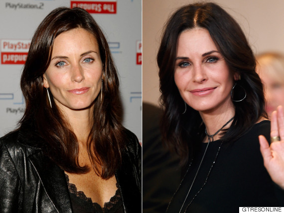 courteney cox antes despues
