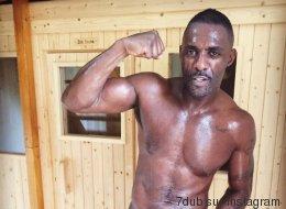 Idris Elba enfile les gants (et ce n'est pas pour un rôle)