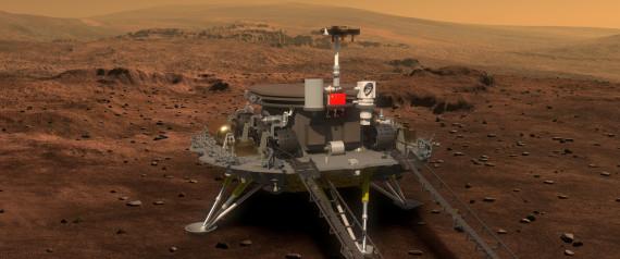ROBOT CHINE MARS