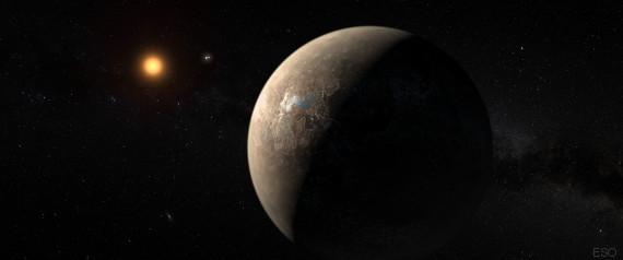 exoplanete proxima du centaure