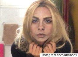 Spoiler Alert: This is NOT Cara Delevingne. It's Makeup.