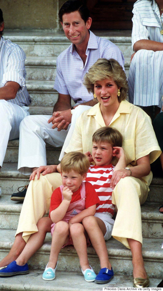 william and harry diana