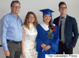 Son Hopes Trudeau's China Trip Helps Jailed Dad