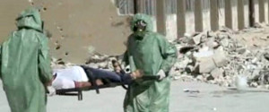 SYRIA CHEMICAL WEAPON