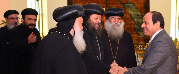 MEMBERS OF THE HOLY SYNOD OF THE COPTIC ORTHODOX C