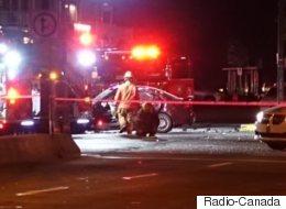 Coups de feu et accidents d'auto à Montréal-Nord