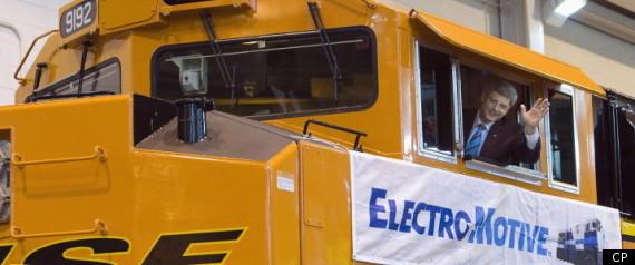 ELECTROMOTIVE LOCKOUT CATERPILLAR STEPHEN HARPER