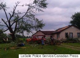 Possible Tornado Leaves Injuries, Damaged Homes In Windsor, Ont.
