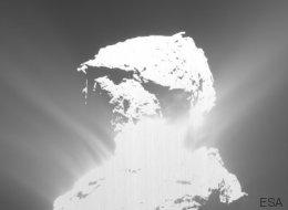Rosetta a enregistré une explosion très rare sur la comète Tchouri