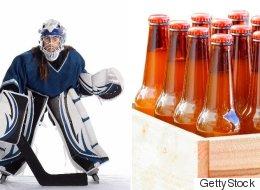 Un voleur déguisé en gardien de hockey dérobe un dépanneur