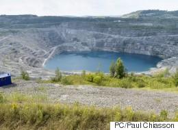 Cinq ans après la fermeture de la mine Jeffrey, Asbestos tente de renaître (PHOTOS/VIDÉO)