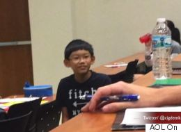 This 11-Year-Old Is Already The Star Of His University Class