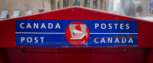 CANADA POST MAIL
