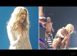 Britney Spears a peut-être quelques conseils à recevoir de Céline Dion (VIDÉO)