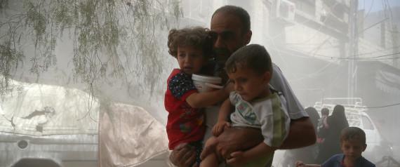 CHILDREN SYRIA AUGUST