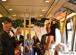Vancouver Wedding Proves Anything Can Happen On Public Transit