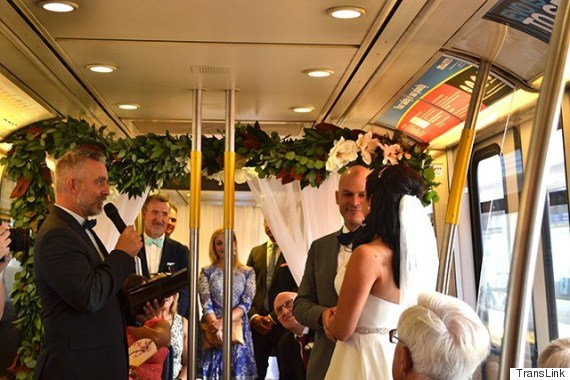 skytrain wedding