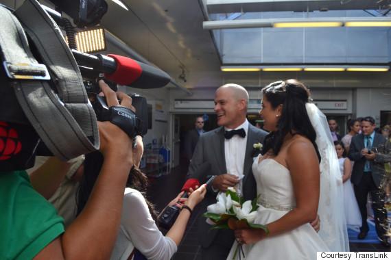 vancouver skytrain wedding