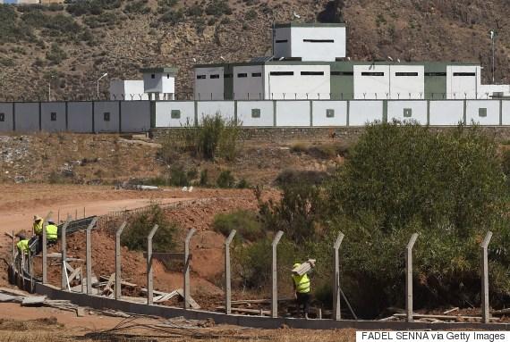 moroccanalgerian border
