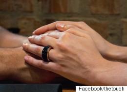 이 반지만 있으면 어디서든 연인의 심장박동을 느낄 수 있다(사진)