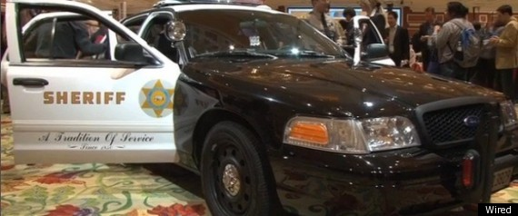 High Tech Cop Car