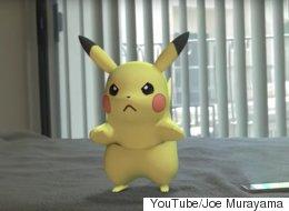 【ポケモンGO】ピカチュウの逆襲 ボールをぶつけられた恨みを倍返しでチュウ(動画)