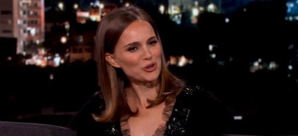Natalie Portman ne comprend vraiment pas les Français