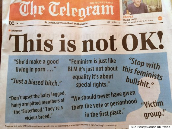st johns telegram sexism
