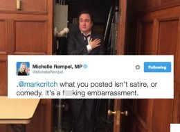 MP Rips Into Comedian For Photo Mocking Harper