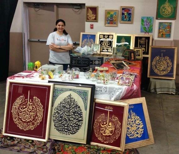 فنانة عراقية تُحبب الكنديين الخط o-IYNASJWAD-570.jpg?7