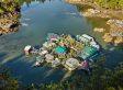 Ein Paar lebt seit 24 Jahren in der Wildnis - auf einer selbstgebauten Insel