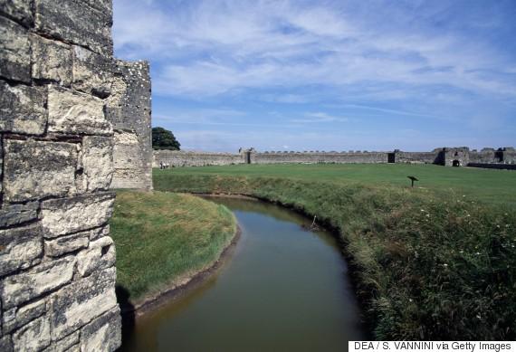 medieval castles moat
