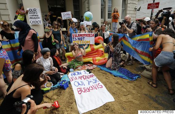 burkini protest london