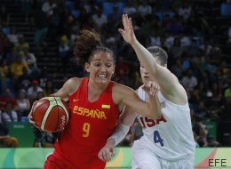 El detalle de Laia Palau, medallista olímpica, con esta histórica del baloncesto