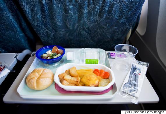 air plane food