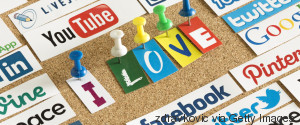 social media website logos