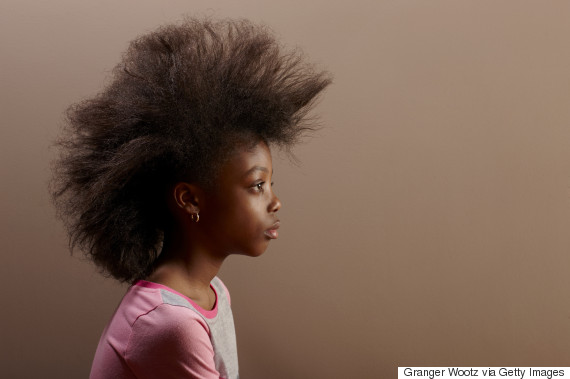 black girl afro hair