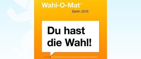 WAHLOMAT BERLIN