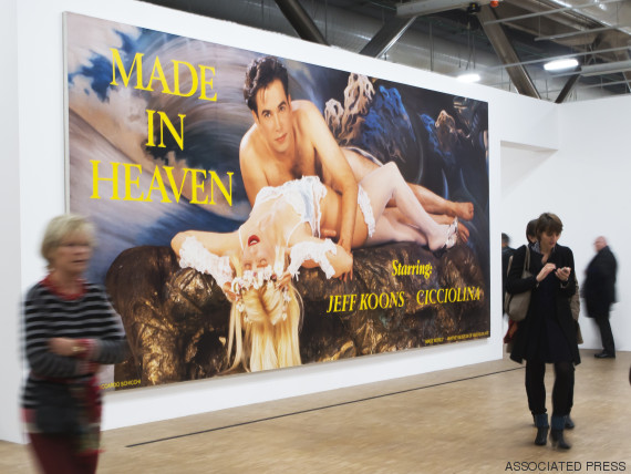 jeff koons made in heaven