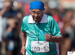 What Motivates 100-Year-Old Sprinter? 'Winning'