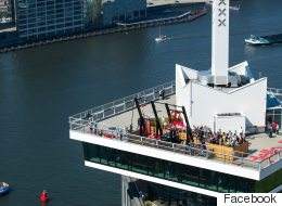 Inauguration des plus hautes balançoires d'Europe (VIDÉO)
